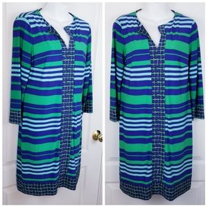 Donna Morgan Stretch Casual Dress Size 10